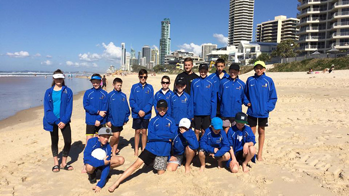 U-13 Gold Coast tour squad