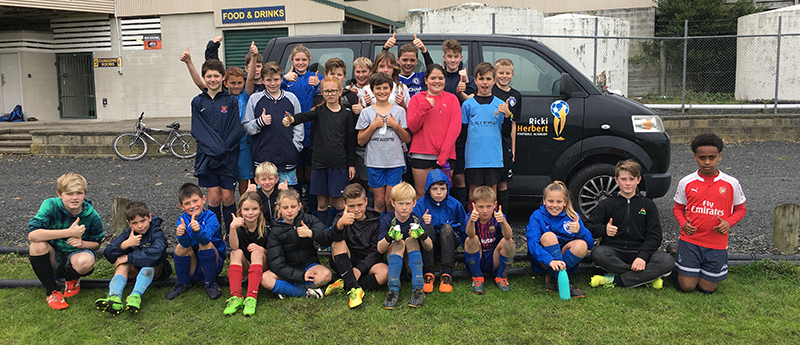 Boys and girls enjoy developing skills at Beachlands course