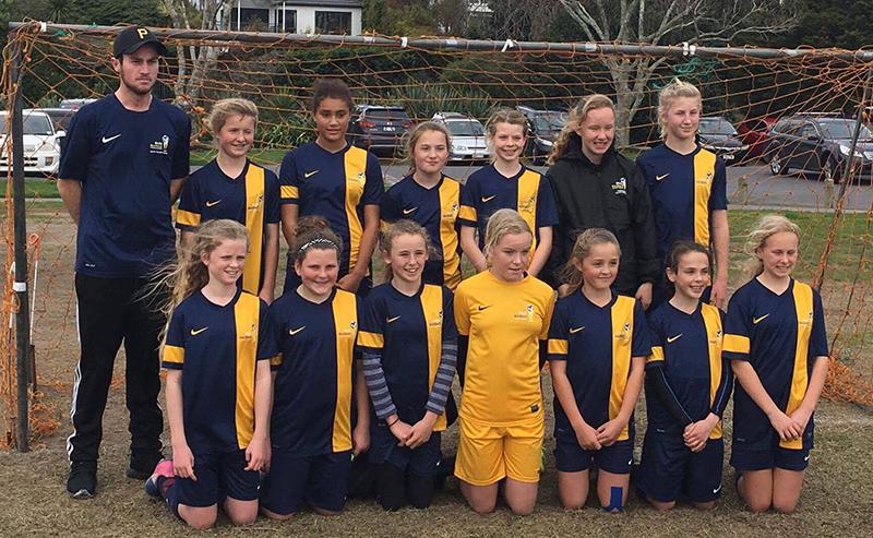 Academy girls from Cambridge reach final of Auckland tournament