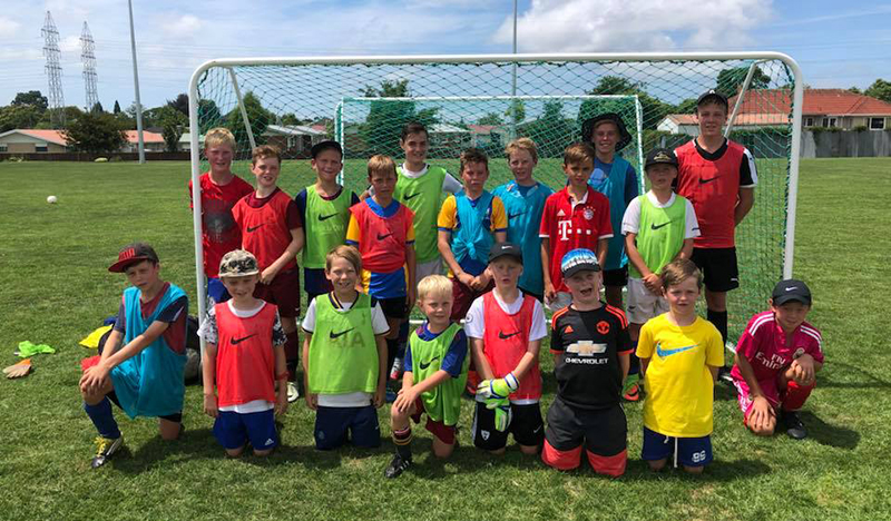 Players make most of holiday course at Tauranga's Blue Rovers club