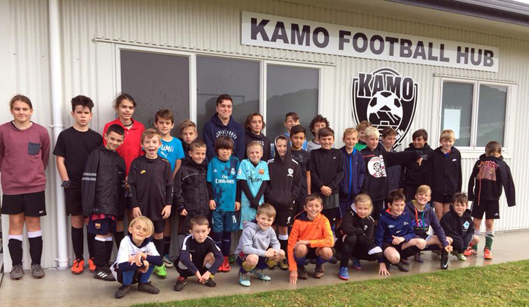 Northland youngsters enjoy holiday course at Kamo