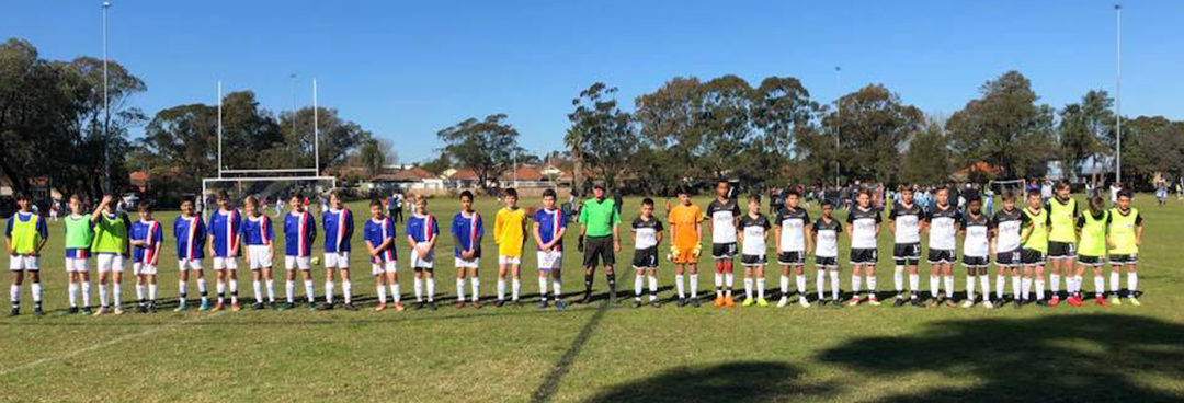 U-13s achieve their third win at Sydney Youth Cup
