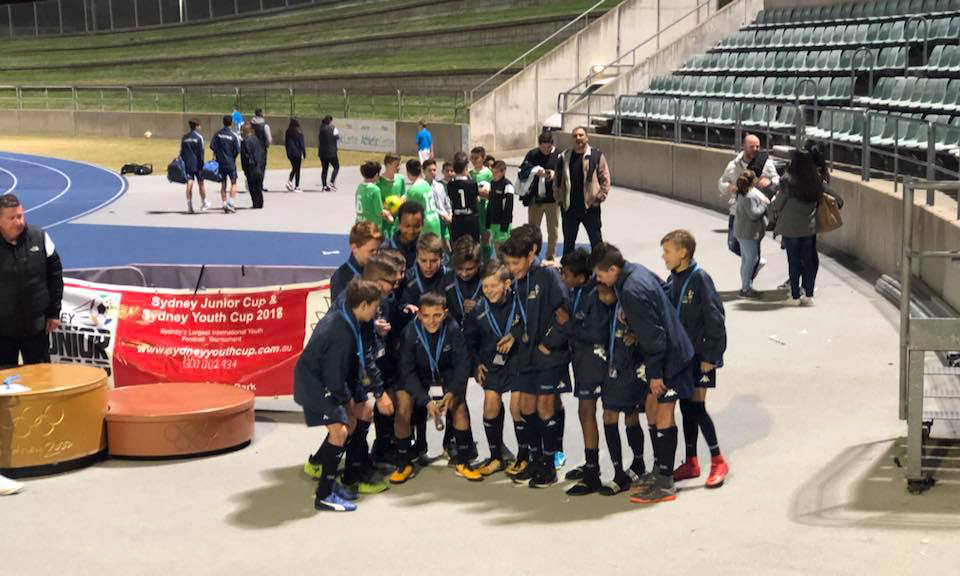 U-13 boys triumph at Sydney