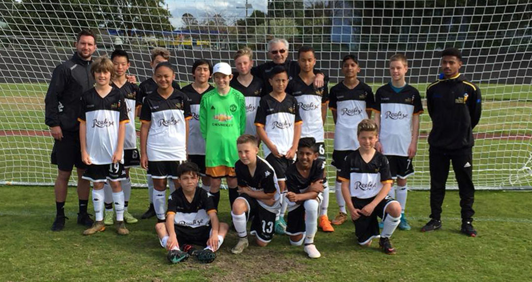 Auckland academy team draws 1-1 with South Islanders